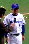 松下電器・北口監督の優勝インタビュー