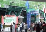 甲子園球場の正面入口