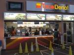 タコスで有名な売店「Taco Derio」