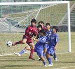 ゴール前の攻防