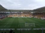 キックオフ30分前のユアテックスタジアム仙台