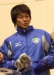恥ずかしがり屋の岡本選手