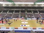 岸和田市総合体育館メインスタンドからの眺め