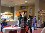 高松市総合体育館の飲食店ブース