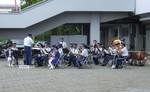 徳島県警察音楽隊の演奏