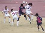 東京ゴール前の攻防