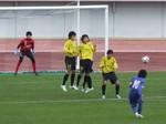 FKでゴールを狙うMF中川