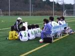 田村コーチによるミーティング