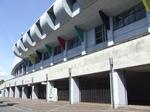 名古屋市港サッカー場の正面