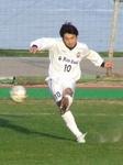 FKを直接叩き込んだ加古川MF吉田