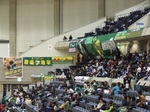 神戸の応援席