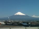 富士市近辺から見た富士山