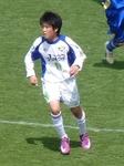 決勝ゴールを決めた吉野川MF板野