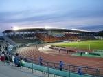 長良川競技場のメインスタンド