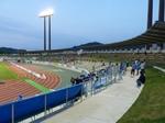 長良川競技場のバックスタンド