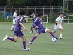 リーグ初ゴールが待たれる学芸FW岡