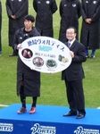 年間MIPの表彰を受けるGKオ・スンフン
